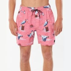 Rip Curl Paradise Party Volley Red. Rip Curl Boardshorts - Elastic Waist in Mens Boardshorts - Elastic Waist & Mens Shorts. Code: CBOCW9
