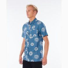 Rip Curl Saltwaters Short Sleeve Shirt Dusty Blue. Rip Curl Shirts - Short Sleeve in Mens Shirts - Short Sleeve & Mens Shirts. Code: CSHDI9