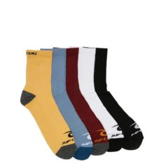 Rip Curl Rip Curl Crew Sock-5pack Natural. Rip Curl Socks, Underwear, Pyjamas in Mens Socks, Underwear, Pyjamas & Mens Footwear. Code: CSODA1