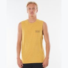 Rip Curl Driven Box Muscle Mustard. Rip Curl Singlets & Tanks in Mens Singlets & Tanks & Mens T-shirts & Singlets. Code: CTEOB9