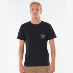 Rip Curl Made For Pocket Tee Black. Rip Curl Tees in Mens Tees & Mens T-shirts & Singlets. Code: CTEOS9