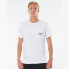 Rip Curl Made For Pocket Tee White. Rip Curl Tees in Mens Tees & Mens T-shirts & Singlets. Code: CTEOS9