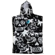 Creatures Of Leisure Grom Poncho Black White. Creatures Of Leisure Towels - Hooded in Boys Towels - Hooded & Boys Accessories. Code: EGP001MT
