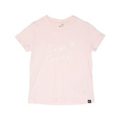 Rip Curl Sun Script Tee - Girl Pink. Rip Curl Tees in Toddlers Tees & Toddlers T-shirts & Singlets. Code: FTECJ1