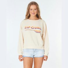 Rip Curl Golden Days Crew Cream. Rip Curl Tees in Womens Tees & Womens T-shirts & Singlets. Code: GFEAT9