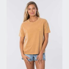 Rip Curl The Searchers Tee Mustard. Rip Curl Tees in Womens Tees & Womens T-shirts & Singlets. Code: GTEHR9