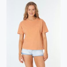 Rip Curl Search Logo Tee Clay. Rip Curl Tees in Womens Tees & Womens T-shirts & Singlets. Code: GTEIW9