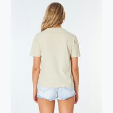 Rip Curl Search Logo Tee Stone. Rip Curl Tees in Womens Tees & Womens T-shirts & Singlets. Code: GTEIW9