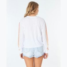 Rip Curl Golden Days Long Sleeve White. Rip Curl Tees - Long Sleeve in Womens Tees - Long Sleeve & Womens T-shirts & Singlets. Code: GTEJD9