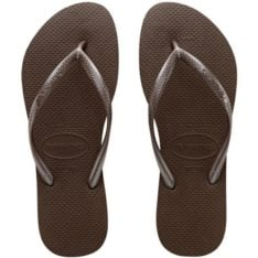 Havaianas Slim Metallic Thong Brown. Havaianas Thongs in Womens Thongs & Womens Footwear. Code: HSM7090F