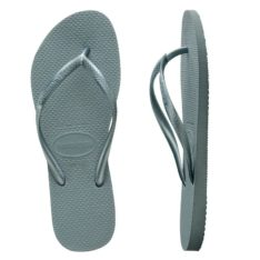 Havaianas Slim Metallic Silver Blue Silver Blue. Havaianas Thongs in Womens Thongs & Womens Footwear. Code: HSMS7606F