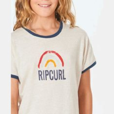 Rip Curl Golden Haze Tee - Girl Cream. Rip Curl Tees in Girls Tees & Girls T-shirts & Singlets. Code: JTEAE9