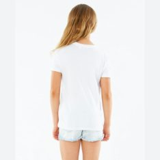 Rip Curl Revival Sol Tee - Girl White. Rip Curl Tees in Girls Tees & Girls T-shirts & Singlets. Code: JTEEW1