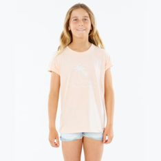 Rip Curl Sway Palm Tee - Girl Light Pink. Rip Curl Tees in Girls Tees & Girls T-shirts & Singlets. Code: JTEEX1