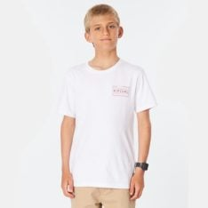 Rip Curl Driven Box Tee-boy White. Rip Curl Tees in Boys Tees & Boys T-shirts & Singlets. Code: KTEMO9