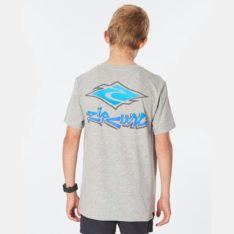 Rip Curl Diamond Fade Tee - Boy Grey Marle. Rip Curl Tees in Boys Tees & Boys T-shirts & Singlets. Code: KTEZZ9