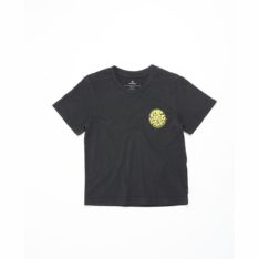 Rip Curl Wettie Logo Tee-boy Washed Black. Rip Curl Tees in Toddlers Tees & Toddlers T-shirts & Singlets. Code: OTEMN9