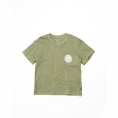 Rip Curl Wettie Logo Tee-boy Dark Olive. Rip Curl Tees in Toddlers Tees & Toddlers T-shirts & Singlets. Code: OTEMN9