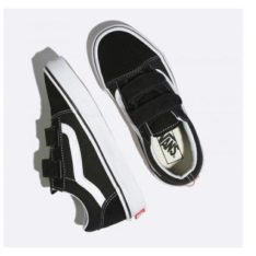 Vans Old Skool V Boys Black True White. Vans Shoes in Boys Shoes & Boys Footwear. Code: VN-0VHE6BT