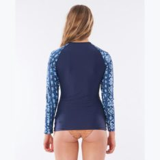 Rip Curl Tropic Shack Relaxed Long Sleeve Mid Blue. Rip Curl Rashvests in Womens Rashvests & Womens Wetsuits. Code: WLUYAW