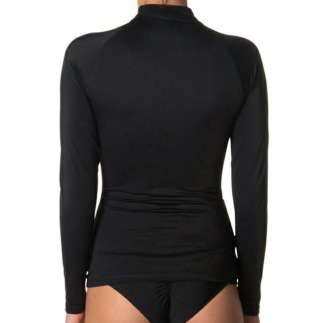 Rip Curl Sunny Rays Relaxed Long Sleeve Black. Rip Curl Rashvests in Womens Rashvests & Womens Wetsuits. Code: WLY6FW