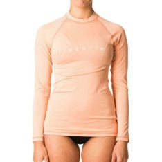 Rip Curl Sunny Rays Relaxed Long Sleeve Peach. Rip Curl Rashvests in Womens Rashvests & Womens Wetsuits. Code: WLY6FW