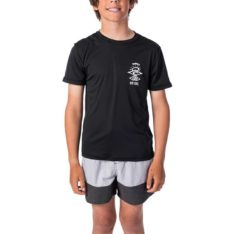 Rip Curl Boys Search Logo Short Sleeve Black. Rip Curl Rashvests in Boys Rashvests & Boys Wetsuits. Code: WLY9DB