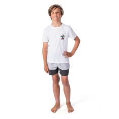 Rip Curl Boys Search Logo Short Sleeve White. Rip Curl Rashvests in Boys Rashvests & Boys Wetsuits. Code: WLY9DB
