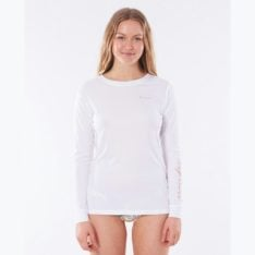 Rip Curl Tropic Sol Surflite Long Sleeve White. Rip Curl Rashvests in Womens Rashvests & Womens Wetsuits. Code: WLYYCW