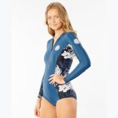 Rip Curl G Bomb Long Sleeve Uv Surfsuit Navy. Rip Curl Rashvests in Womens Rashvests & Womens Wetsuits. Code: WLYYEW