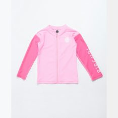 Rip Curl Groms Long Sleeve Zip Through Uvt Pink. Rip Curl Rashvests in Toddlers Rashvests & Toddlers Wetsuits. Code: WLYYHO