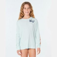 Rip Curl Girls Retro Long Sleeve Uv Surflit Blue. Rip Curl Rashvests in Girls Rashvests & Girls Wetsuits. Code: WLYYKJ