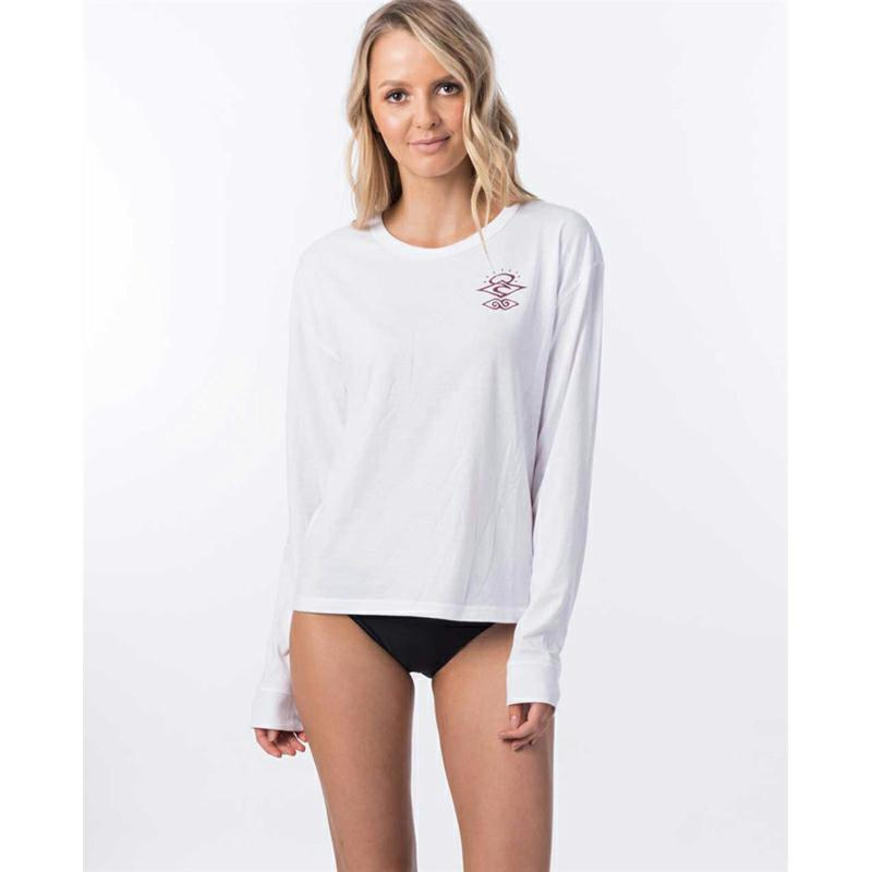 Rip Curl Searchers Poly/cotton Ls White. Rip Curl Rashvests in Womens Rashvests & Womens Wetsuits. Code: WLY9QW