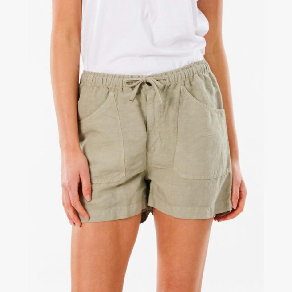 Rip Curl Panoma Short Stone Green. Rip Curl Walkshorts - Fitted Waist in Womens Walkshorts - Fitted Waist & Womens Shorts. Code: GWACB9