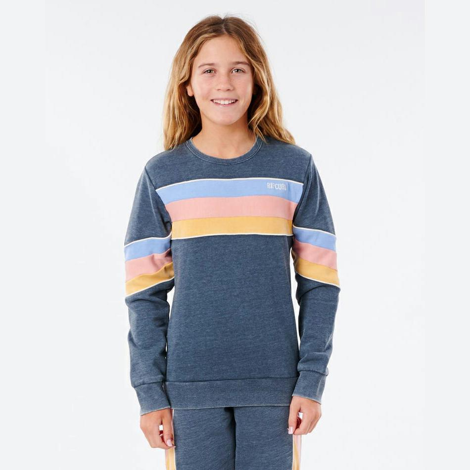 Rip Curl Golden State Crew - Girl Navy. Rip Curl Sweats in Girls Sweats & Girls Jackets, Jumpers & Knits. Code: JFEAF9