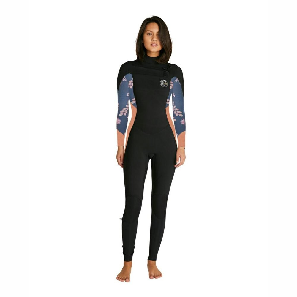 Oneill Womens Bahia 3/2mm Steamer Chest Zip Wetsuit Mf3 Blk/mgf/twor. Oneill Steamers in Womens Steamers & Womens Wetsuits. Code: 96424