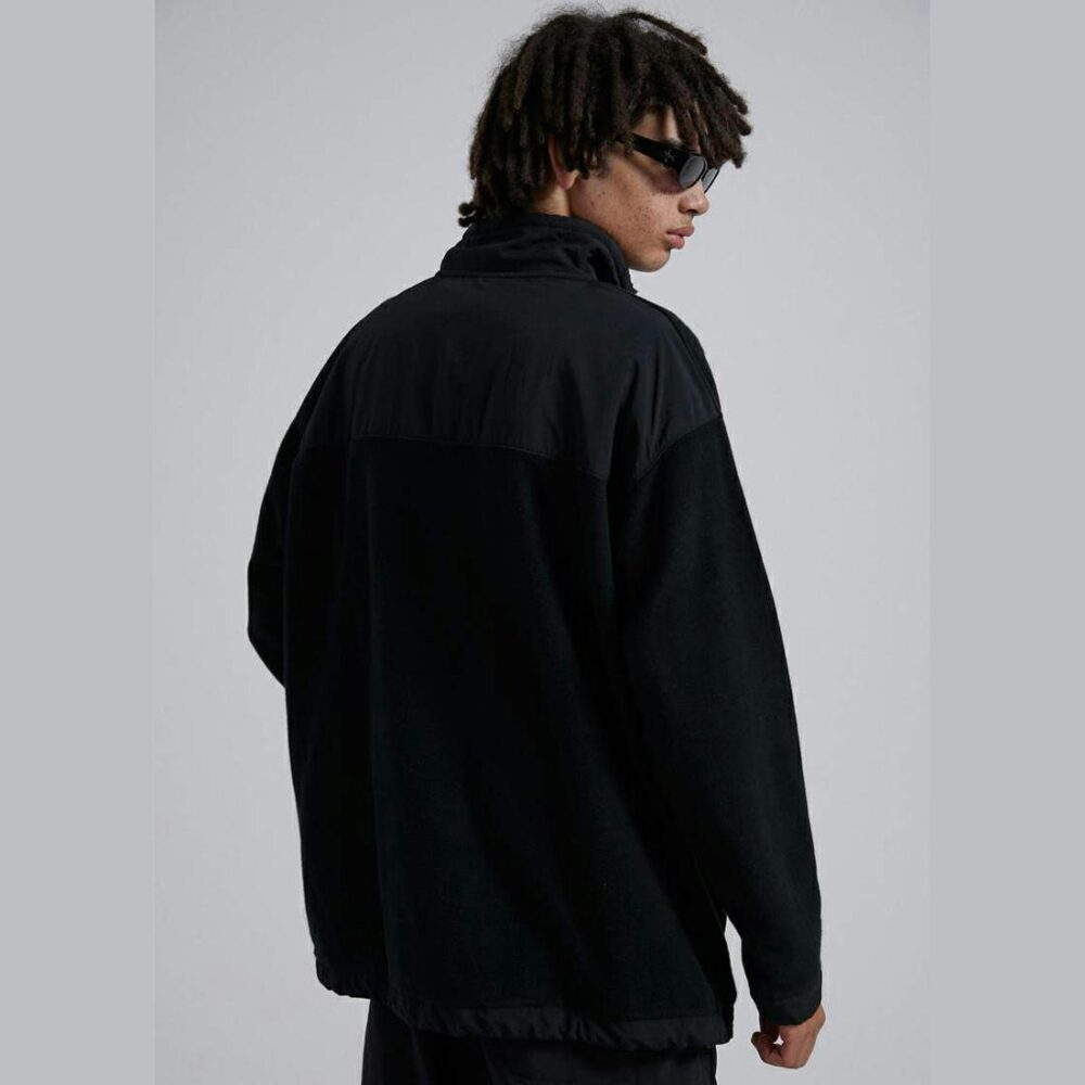Afends Streetlights Panel Crew Black. Afends Jackets in Mens Jackets & Mens Jackets, Jumpers & Knits. Code: M213501