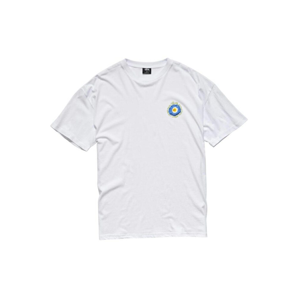 Stussy Cosmos Relaxed Tee White. Stussy Tees in Womens Tees & Womens T-shirts & Singlets. Code: ST116006