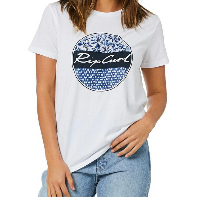 Rip Curl Gypsy Drifter Tee White. Rip Curl Tees in Womens Tees & Womens T-shirts & Singlets. Code: GTEHS1
