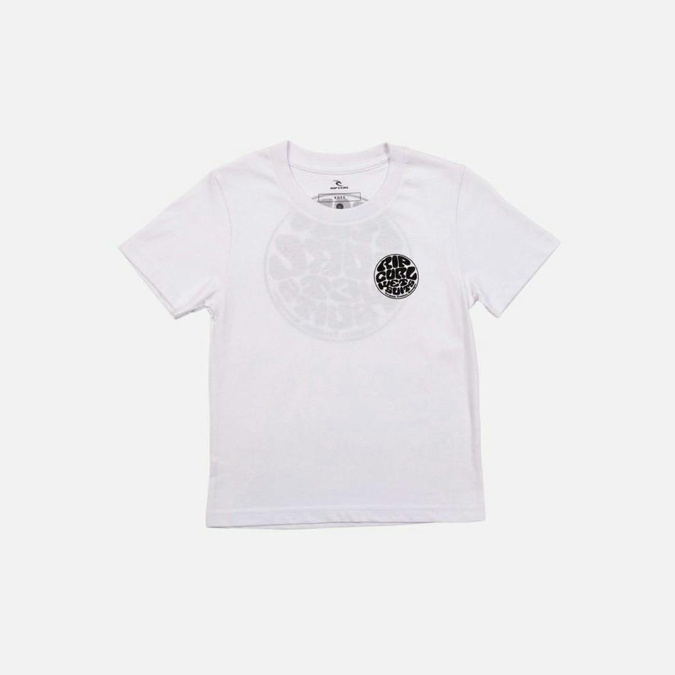 Rip Curl Wetty Essentials Tee - Boys (0 - 6 Years) White. Rip Curl Tees in Toddlers Tees & Toddlers T-shirts & Singlets. Code: OTEST9