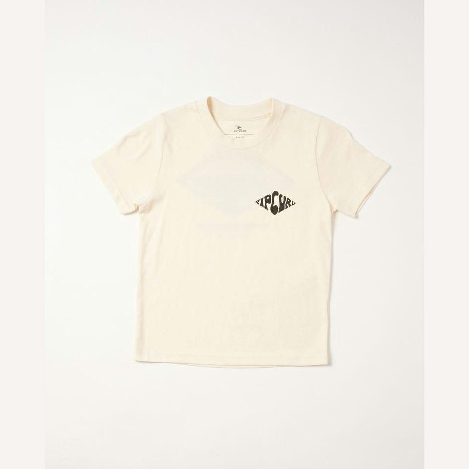 Rip Curl Swc Curren Tee - Boys (0-7 Years) Bone. Rip Curl Tees in Toddlers Tees & Toddlers T-shirts & Singlets. Code: OTEUQ9