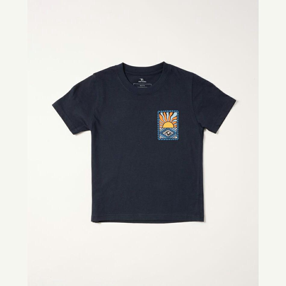Rip Curl Swc Hazed Tee - Boys (0-6 Years) Navy. Rip Curl Tees in Toddlers Tees & Toddlers T-shirts & Singlets. Code: OTEVP9